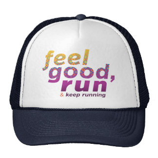 Feel Good RUN - FATNOMORE Runner Inspiration Trucker Hat