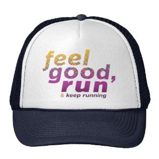 Feel Good RUN - FATNOMORE Runner Inspiration Trucker Hat