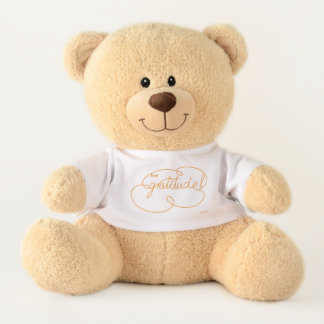 feel GRATITUDE - Bold CloudS - O Teddy Bear