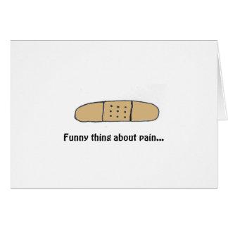 Feel it to Heal it Card