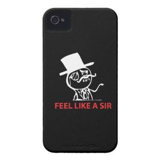 Feel Like A Sir - BlackBerry Bold 9700/9780 iPhone 4 Covers