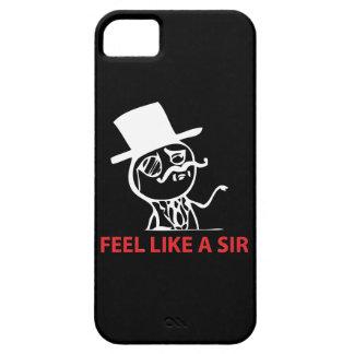 Feel Like A Sir - iPhone 5 Black Case