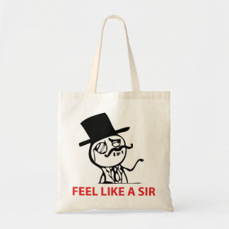 Feel Like A Sir - Tote Bag