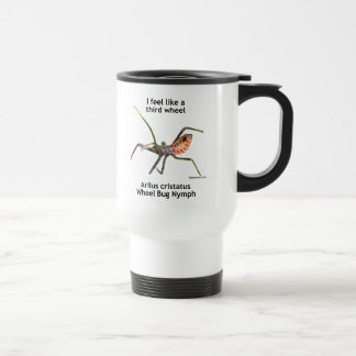 Feel Like A Third Wheel Bug Travel Mug