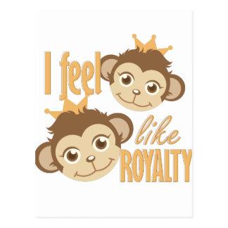 Feel Like Royalty Postcard