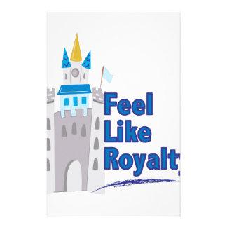 Feel Like Royalty Stationery