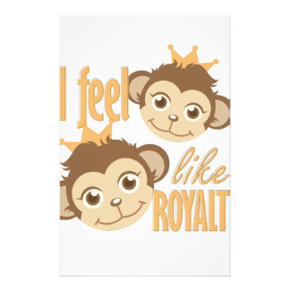 Feel Like Royalty Stationery Paper