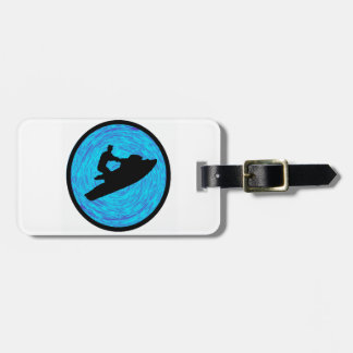 FEEL OF WATER LUGGAGE TAG