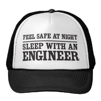 Feel safe at night, sleep with an engineer trucker hat