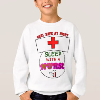 feel safe night sleep nurse, gift for nurses shirt
