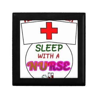 feel safe night sleep nurse, gift for nurses shirt gift box