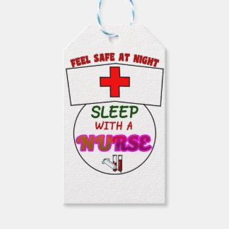 feel safe night sleep nurse, gift for nurses shirt gift tags