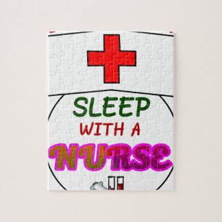 feel safe night sleep nurse, gift for nurses shirt jigsaw puzzle