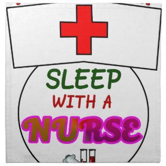 feel safe night sleep nurse, gift for nurses shirt napkin