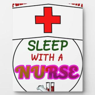feel safe night sleep nurse, gift for nurses shirt plaque