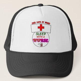 feel safe night sleep nurse, gift for nurses shirt trucker hat