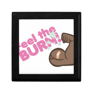 Feel The Burn Trinket Box