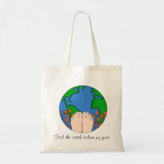 Feel the Earth Below My Feet Tote