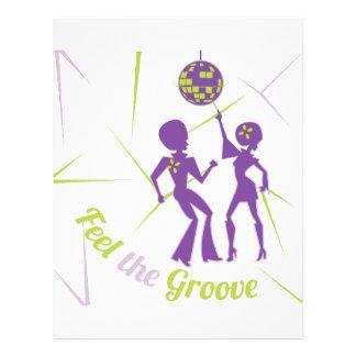 Feel The Groove Letterhead