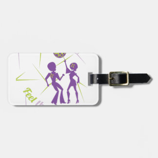 Feel The Groove Luggage Tag