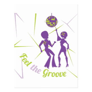 Feel The Groove Postcard