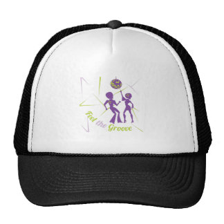 Feel The Groove Trucker Hat