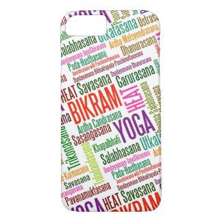 Feel the Heat Bikram Yoga Practioner's Asanas iPhone 8/7 Case