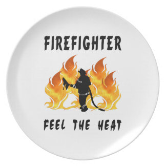 Feel The Heat Party Plate