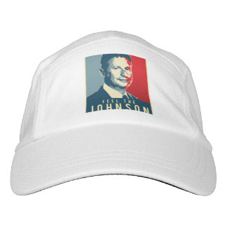 Feel the Johnson - Gary Johnson Propaganda Poster  Headsweats Hat