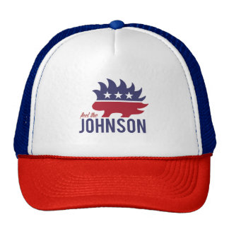 Feel the Johnson - Libertarian Porcupine - -  Trucker Hat