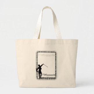 Feel the Music_ Large Tote Bag