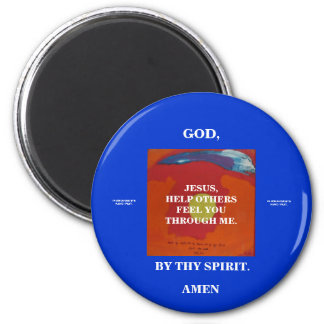 FEEL YOU - THROUGH ME 2 INCH ROUND MAGNET