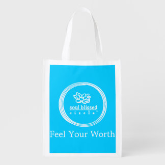 Feel Your Worth Reusable Bag