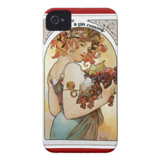 FEEL ZIN COMING...GIRL UNDER GRAPE ARBOR PRINT iPhone 4 COVER