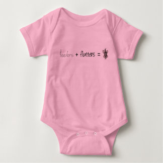 Feelers + Flutters = Social Butterfly Graphic Baby Bodysuit
