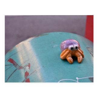 Feelin' Crabby Crab NYC Urban Street Photography Postcard