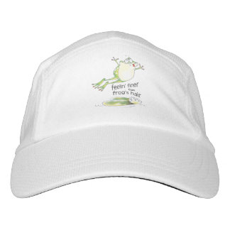 feelin' fine frog headsweats hat