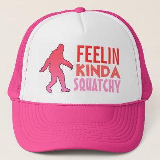 Feelin kinda squatchy pink fade bigfoot hat