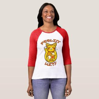 Feelin' Lucky Cat T-Shirt