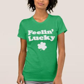 Feelin' Lucky Shamrock (ON DARK) T-Shirt