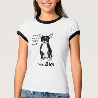 Feelin' Small Chihuahua Ringer T-Shirt