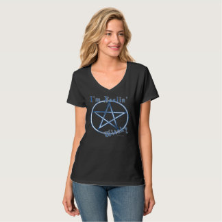 Feelin' Witchy Ladies Nano V-neck T-shirt