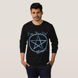 Feelin' Witchy Men's Long Sleeve Shirt