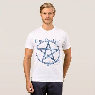 Feelin' Witchy Men's Poly-Cotton T-Shirt
