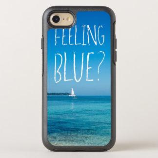 Feeling Blue iPhone 6/6s Symmetry Case, Black