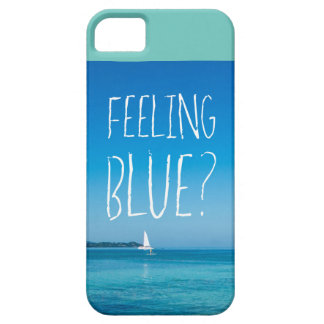Feeling Blue iPhone SE + iPhone 5/5S, Barely There iPhone 5 Covers