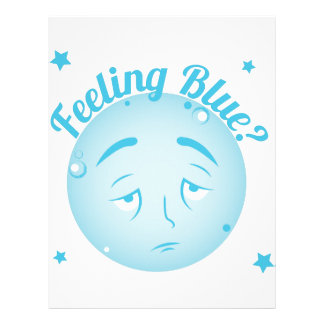 Feeling Blue Letterhead
