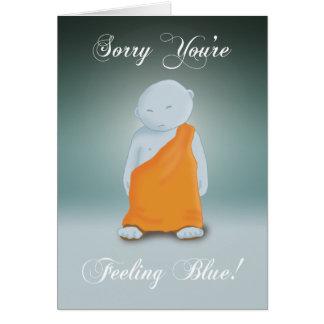 Feeling Blue - Monk Card