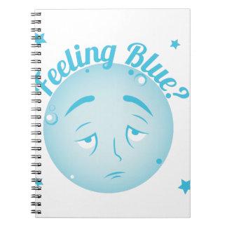 Feeling Blue Notebook