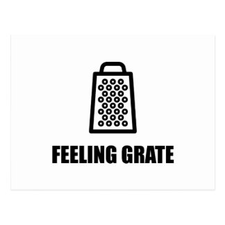 Feeling Cheese Grater Postcard